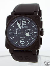 BELL & ROSS INSTRUMENT BR03-94 CHRONOGRAPH WATCH NEW