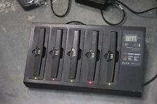 LXE MX3X 5 BAY/ SLOT Battery CHARGER 9000A377CHGR5 for MX3 barcode scanners L3