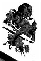 Martin Ansin GAME OF THRONES Poster Mondo LTD ED Screen Print Ghost Tyrion RARE