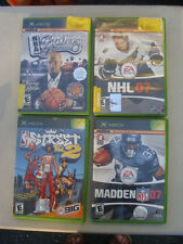 Lot of 5 XBOX Game: NHL 07, Madden 07, NBA Street, PGR 2, NBA Ballers Phenom