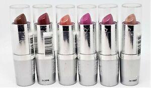 Wet N Wild SilkFinish Lipstick Choose Mink Cinnamon Pink Ice Cashmere Blk Orchid