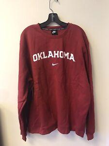 Nike Club Fleece Oklahoma Sooners Sweatshirt Size 2XL BQ8512-613