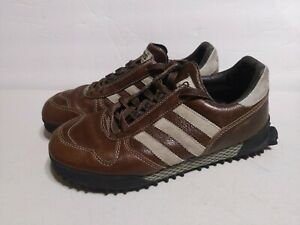 Vintage Rare Adidas Marathon Trainers Running Shoes Men's Size 7