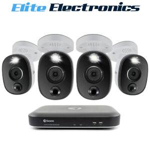 Swann 4K Ultra HD 4 Camera 8 Channel DVR-5580 2TB HDD Security System
