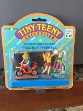 Vintage Tiny Teeny Collection Sports Collection Woolworth New In Package