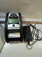 - (GRADE A)Zebra QLN220 Bluetooth / Wifi Thermal Label  Printer W/BATTERY&AC