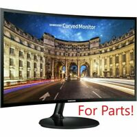 """Samsung CF390 Series LC24F390FHNXZA 24"""" LED Curved HD FreeSync Monitor FOR PARTS"""
