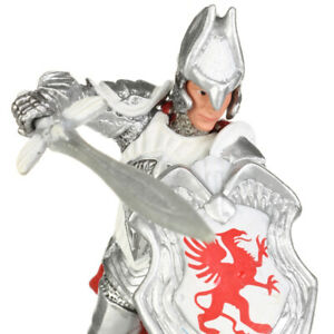 Schleich World of Knights RED GRIFFIN KNIGHT With Sword Figurine VHTF 2012