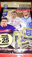 PANINI Foot Fifa 365 Album + 5 nouvelles Pochettes