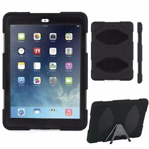 iPad Air Case - Protective Cover w/Stand For iPad Air BLACK (Lot B)