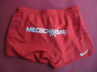 Short rugby porté Stade Toulousain Nike Meca Chrome rouge Toulouse - XXL