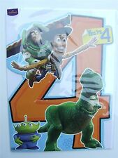 Large Disney Toy story fourth birthday card by Hallmark - 11344626