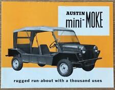 AUSTIN MINI-MOKE Sales Brochure c1965 #2260