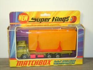 Daf Building Transporter - Matchbox Super Kings K-13 England in Box *53526