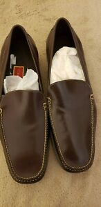 Cole Haan C02153 Pelham French Roast Leather Loafer Mens Size 11M NIB New