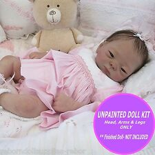 "Adorable Kameko~ Reborn Baby Doll Kit~ To make your own 19"" Asian Baby ~ SALE"