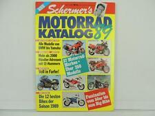 Vintage 1989 MOTORRAD KATALOG Catalog Magazine BMW Yamaha Suzuki L5259