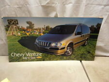 1999 Chevrolet Venture Minivan Dealer Showroom Dealership Sign Poster 34X17