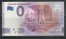 BILLET 0 EURO SOUVENIR 2020 - OSSUAIRE DOUAUMONT - VERDUN 14-18 - ANNIVERSARY