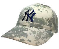 New York Yankees Digital Camouflage Promotional Budweiser MLB Cap Adjustable Hat
