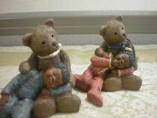 Martha Holcombe All Gods Children Paddy Paw Lucy & Luke Teddy Bear Figurine