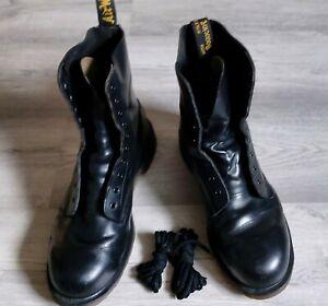 Schuhe Dr. Martens Black 10-Loch Made in England Stiefel Gr UK11 Guter Zustand!!