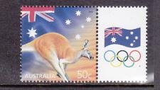 2003 Celebration & Nation 50c Kangaroo MUH With Personalised Tab - Flag & Rings
