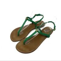 Tory Burch Emmy Green Sandals Size 8.5