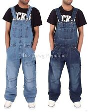 Peviani Mens Boys Ladies Unisex Baggy Loose Fit Dungarees Jumpsuit Time Money Is