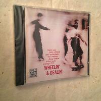 JOHN COLTRANE FRANK WESS CD WHEELIN' & DEALIN' OJCCD-672-2 1991 JAZZ
