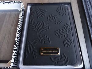 New Designer Marc by Marc Jacobs Black Embossed iPad/ Tablet case Xmas Gift