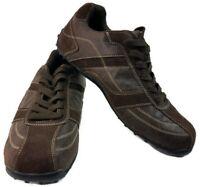 $150 Perry Ellis America Rocker Mens Leather Suede Square Toe Shoe Size 11