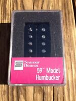 Seymour Duncan SH-1N 59 Model 4 Conductor Neck BLACK PAF Les Paul Pickup