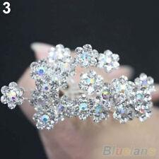 Fashion 20Pcs Wedding Bridal Flower Crystal Hairpin Hair Clips Bridesmaid W1