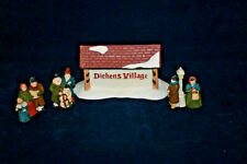"Dickens' Village Sign With Dicken""S Carolers The Heritage Collection"