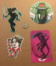 Tyler Stout New Sticker Set of 4 different hard to get stickers Sold Out Set 10
