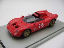 1/18 scale Tecnomodel Alfa Romeo 33.2 Periscopio Fléron Belgio 1967 TM18-49E