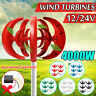12/24V Windrad Windkraftanlage Windturbine Windgenerator vertikale 4000W