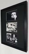 Ian Curtis Joy Division Framed Original Postcard Love Will Tear Us Apart V RARE