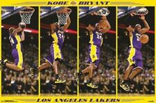 Kobe Bryant Slam Dunk LA Lakers 2013 NBA Basketball 22x34 Poster
