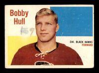 1960-61 Topps #58 Bobby Hull G X1272793