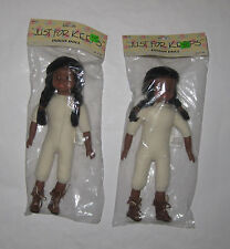"""NOS Vintage Dress-Up Doll Native American 13"""" Indian Regional Local Tennessee TN"""