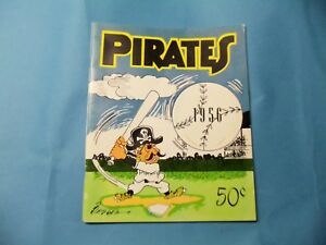 1956 Pittsburgh Pirate Yearbook