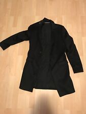 All Saints Ide Coat Black Size 36 S Small Jacket