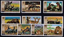 Rwanda 1972 Mich 487 - 496 wildlife MNH