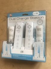 CTA: Dual Charge Station; Controller Charging Docks Nintendo Wii NEW
