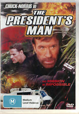 CHUCK NORRIS in The PRESIDENT'S MAN * NEW & SEALED * Region 4  UPC: 933241200385