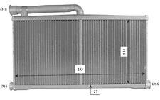 NRF Radiador de calefacción AUDI A6 54206