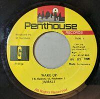 Jamali - Wake Up 45 Penthouse 1995 Digi Roots Reggae VG+