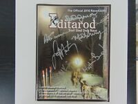 """""""2010 Iditarod Race Guide"""" Signed By 6 Participants Todd Mueller COA"""